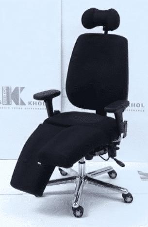 fauteuil à commande électrique pour les repose-jambes
