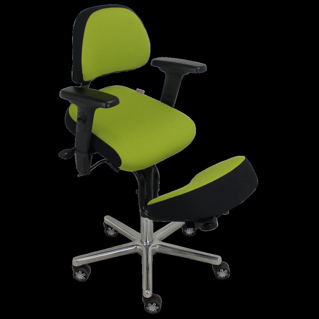 BRIANCON-_MG_3809-recadrée-carrée-1024x1024 Fauteuil assis-genoux BRIANCON avec assise inclinable et genouillère confort équipé d'une translation d'assise