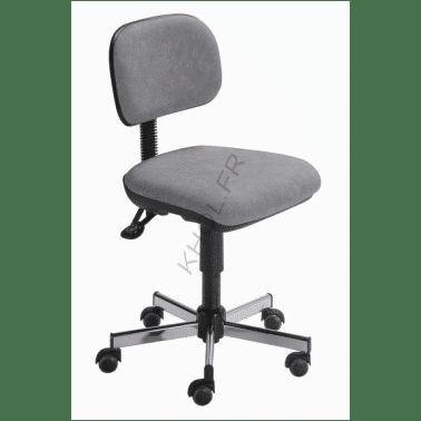Siège ergonomique de travail CHAMONIX de KHOL asynchrone assise galbée arrondie à l'avant