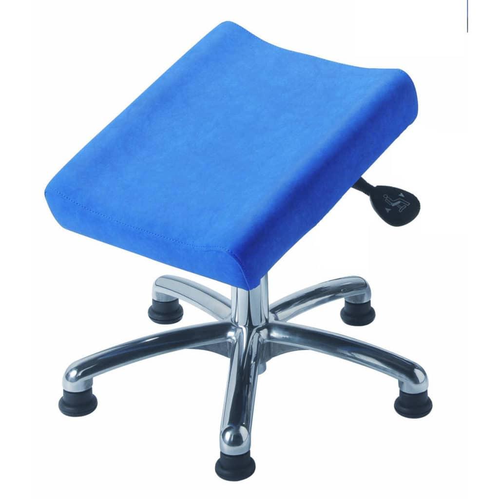 Repose jambes 2 jambes réglable en hauteur et inclinaison MOBILE sur patins