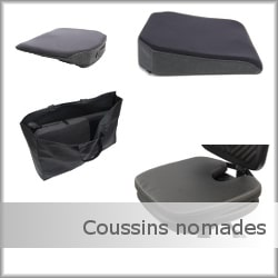 Coussins nomades KHOL pour névralgies pudendales périnéales
