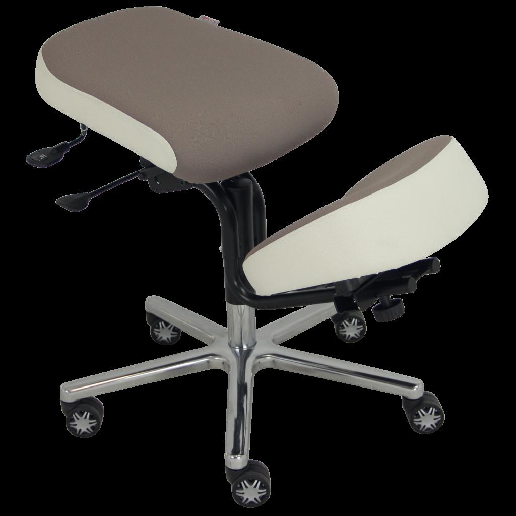 BLOIS-2020-recadrée-carrée-_MG_3806--1024x1024 Assis à genoux BLOIS avec assise et genouillère confort équipé d'une translation d'assise