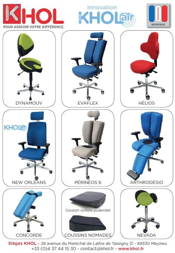 ergonoma journal sièges