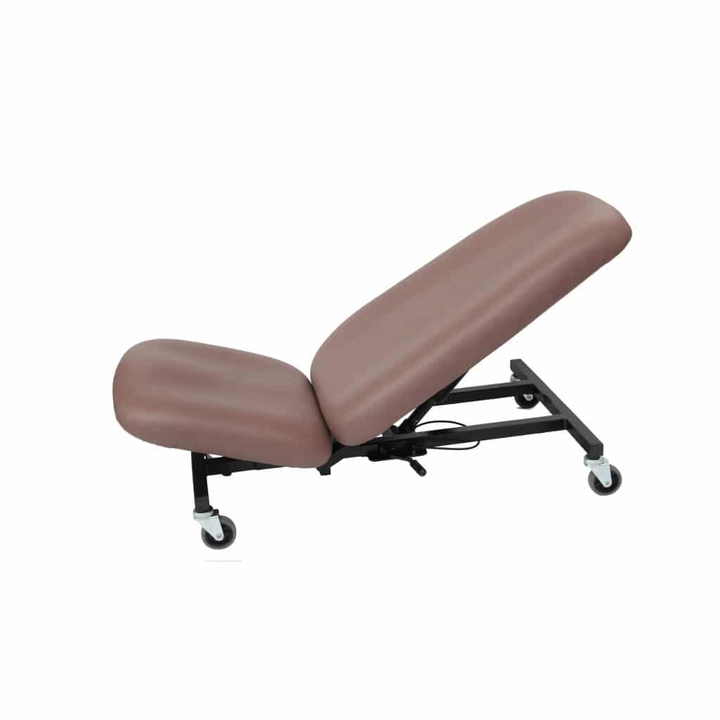 Chariot de garagiste ergonomique pliant SKARA de KHOL pour travaux en position assise et assis-couchée