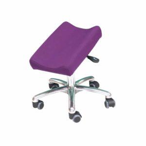 Repose jambes 1 jambe réglable en hauteur MOBILE sur roulettes