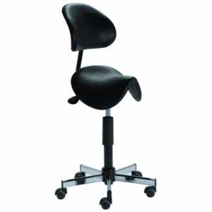 Siège selle ergonomique TILBURY de KHOL assise et dossier polyuréthane