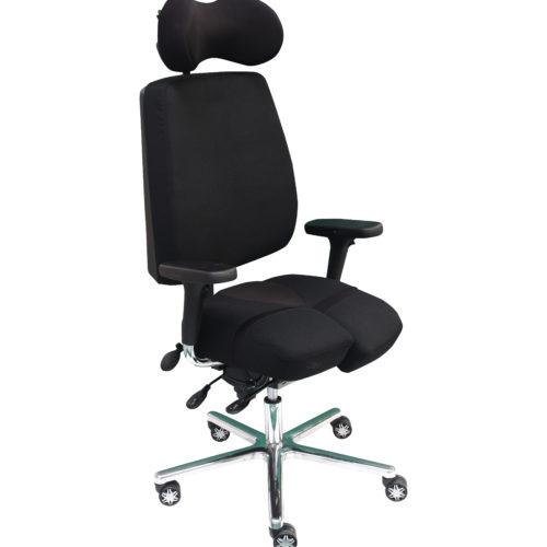 Fauteuil-de-bureau-ergonomique-PERINEOS-8-qualité-de-vie-au-travail--500x500 PERINEOS 8 avec 2 appui-jambes dans la continuité de l'assise