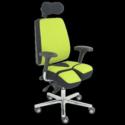 PERINEOS-8-noir-et-vert-7011-IMG_2265-carrée-500x500 PERINEOS 8 avec 2 appui-jambes dans la continuité de l'assise