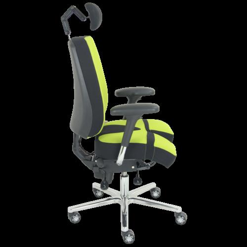 PERINEOS-8-noir-et-vert-7011-IMG_2267-carrée-500x500 PERINEOS 8 avec 2 appui-jambes dans la continuité de l'assise