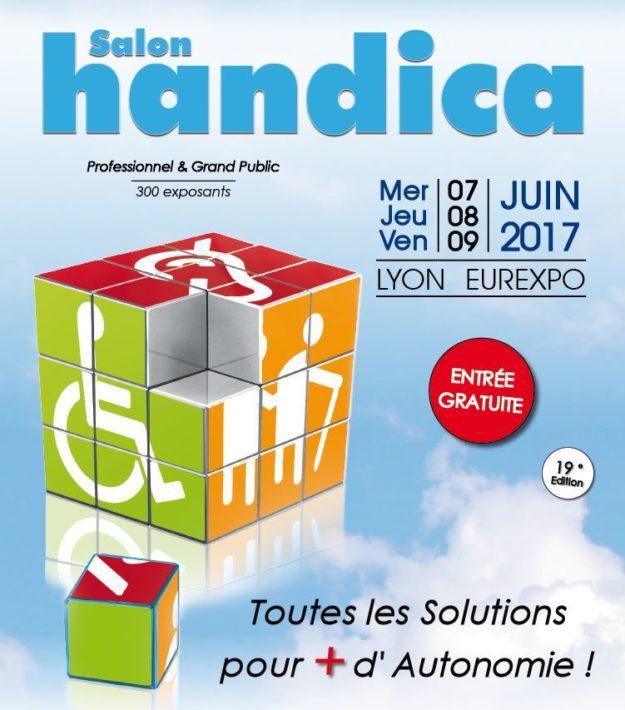 Salon HANDICA LYON EUREXPO du 7 au 9 juin 2017