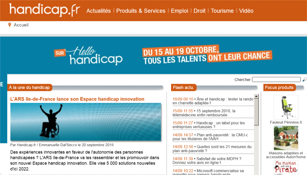 Focus-PERINEOS-8-de-KHOL-09-2019 Le fauteuil PERINEOS 8 en focus produit sur le site handicap.fr