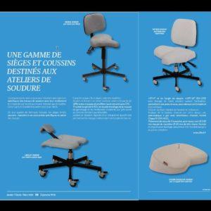 ERGONOMA-sièges-et-genouillère-SOUDEURS-n°58-page-1-et-2-carrée-300x300 Les sièges KHOL présentent une gamme de sièges et coussins destinés aux ateliers de soudure.